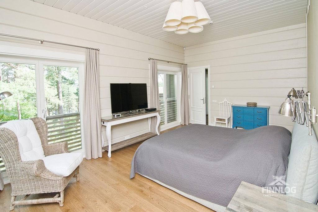 Andromeda Blockhaus - Schlafzimmer