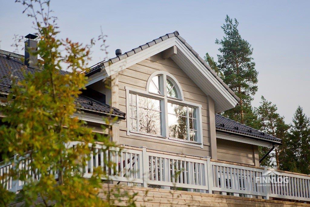 Lyra Blockhaus - Dachgaupe