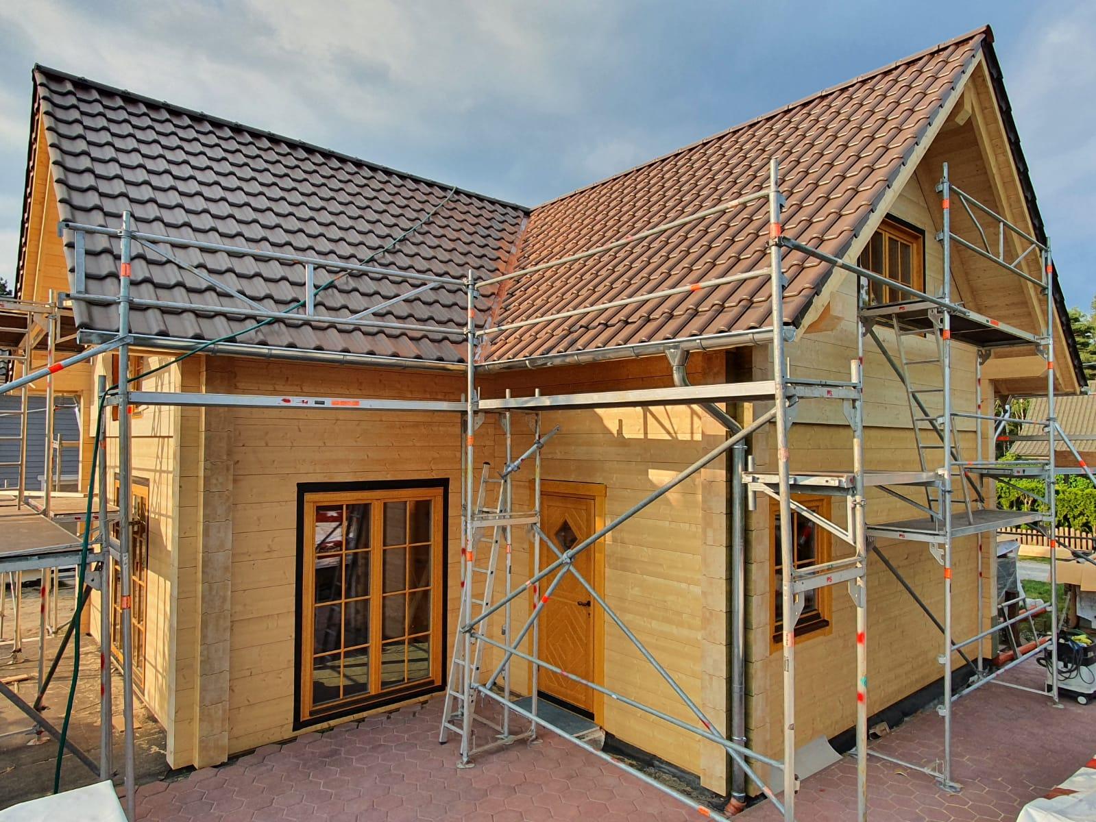 Holzhaus Innenausbau
