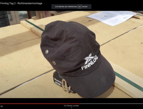 Blockhaus bauen mit Finnlog – Tag 2